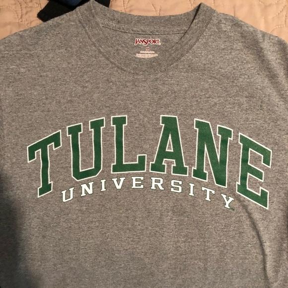 Tulane University T-Shirt   College Apparel